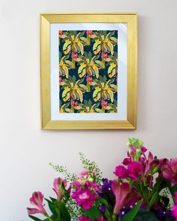 Palm Tree Art Giclée Print