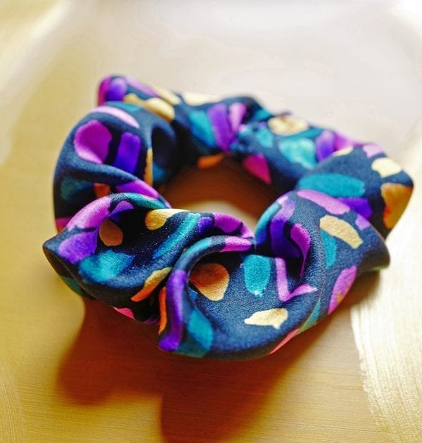 Abstract Butterfly Scrunchie