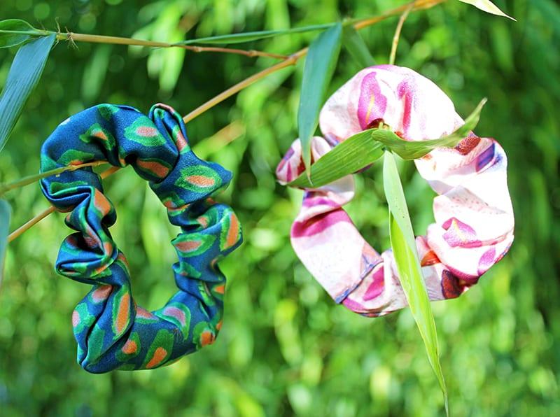 Caitlin Evans Silk Scrunchies